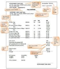 zero rated gst invoice example free printable invoice