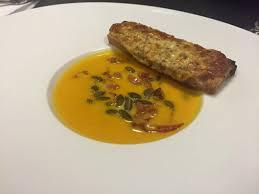 cuisine potimarron recette de soupe au potimarron aux graines de courges
