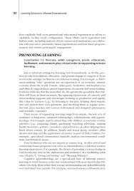 9 conclusions and recommendations learning science in informal