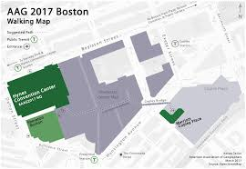 Boston Station Map by Getting Around Boston Aag Annual Meeting