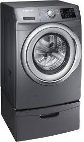 Samsung Blue Washer And Dryer Pedestal Samsung Wf42h5200ap 27 Inch 4 2 Cu Ft Front Load Washer With