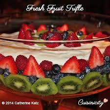 fruit fresh fresh fruit trifle cuisinicity