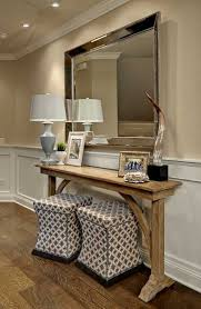 Entrance Tables And Mirrors Amazing Of Console Table With Mirror With Best 25 Rustic