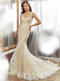 wedding dress 2015 sheath wedding dress with chapel