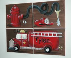 Decorative Paintings For Home by Top 25 Best Fire Truck Room Ideas On Pinterest Truck Bedroom
