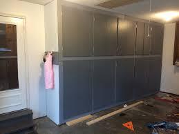 Floor To Ceiling Storage Cabinets With Doors Diy Garage Storage Cabinets Sugar Bee Crafts