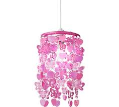 shades of light pink buy home spotted butterfly pink light shade l shades argos