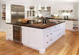 kitchen island with wine storage built in kitchen island wine fridge transitional kitchen for