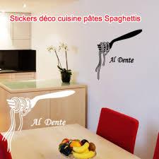 autocollant cuisine stickers autocollant déco cuisine pâtes spaghettis ebay