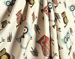Owl Kitchen Curtains by Owl Curtains Etsy