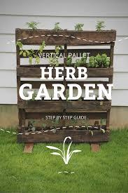 diy vertical herb garden and planter 2x4 challenge sustainable