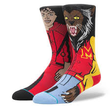 stance halloween socks michael jackson thriller 2017