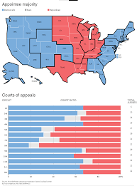 Federal Circuit Court Map Obama U0027s Judges Leave Liberal Imprint On U S Law