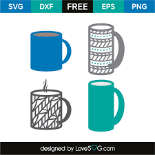 coffee cup silhouette png coffee mugs lovesvg com