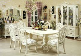 Dining Room Chairs White Antique Formal Dining Room Furniture Ii Table White Set Sets