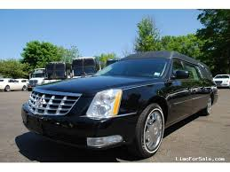 hearses for sale used 2010 cadillac dts funeral hearse superior coaches commack