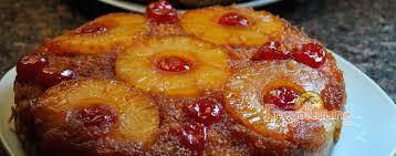 cuisiner l ananas recette de gâteau renversé à l ananas