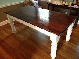 farmhouse dining table legs farm table legs like this item farmhouse dining table white legs