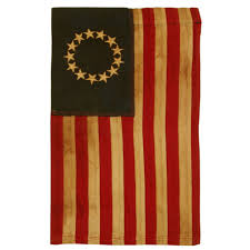 American Flag Rugs 13 Star Heritage Series Garden Flag By Valley Forge