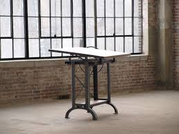 cast iron drafting table stand up industrial drafting table desk