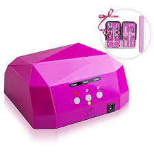 amazon com matrixsight 36w led uv nail dryer nail lamp diamond