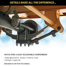 Hutch 9700 Suspension Parts Easyloaders Eager Beaver Trailers
