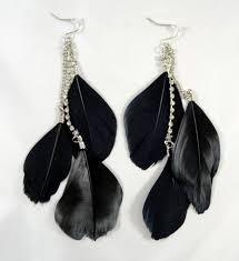 feather earrings feather earrings ebay