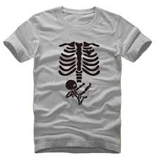 Halloween Skeleton Pregnancy Shirts Online Get Cheap Maternity Skeleton Shirt Aliexpress Com