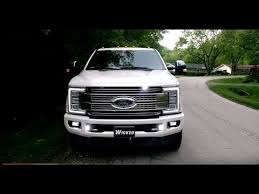 2017 super duty clearance lights 2017 f 350 platinum led strobe lights o hare towing wicked warnings