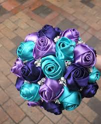 popular items for peacock bouquet on etsy glued bridesmaid