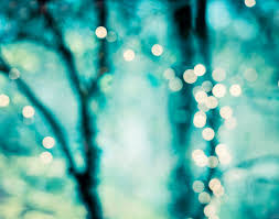 abstract photography bokeh light picture teal blue aqua