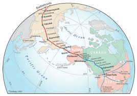 Prairies In World Map by Us Planes Fly Historic Route To Siberia To Celebrate Joint Victory