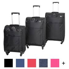 ultra light luggage sets voyager set of ultra light luggage 3 piece travel suitcase trolley bags