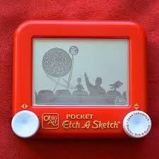 princess etch a sketch art