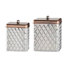 silver kitchen canisters kitchen canisters jars you ll wayfair