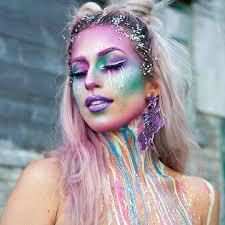 unicorn halloween 36 unicorn makeup ideas perfect for halloween 2017 glamour