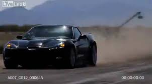 corvette on top gear helicopter crashes while filming corvette zr1 stunt for top