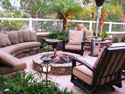 exterior patio with long pergolla backyard patio ideas covered
