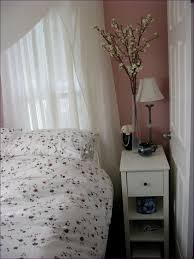 bedroom marvelous french mirrored bedside table one drawer night