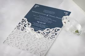 Invitations For Weddings Classic Laser Cut Wedding Invitations Impressions U2013 Custom
