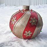 fiber optic outdoor yard ornament