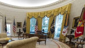 trump oval office redecoration donald trump s telling change to the oval office