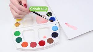 how to mix paint to make the colour pink 9 steps with pictures