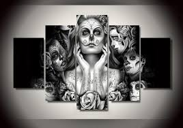Day Of The Dead Home Decor Online Buy Wholesale 5 Day Posters From China 5 Day Posters