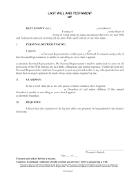 free texas last will and request letter format simple proposal