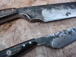 used kitchen knives 52 best kman knives images on bushcraft forged