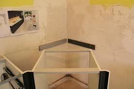 cuisine avec plaque de cuisson en angle installer le meuble d angle