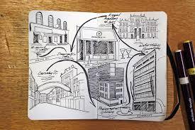 london moleskine entertainment map journal jitesh patel illustration