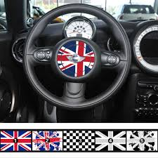 mini cooper logo aliexpress com buy anteke national flag steering wheel emblem
