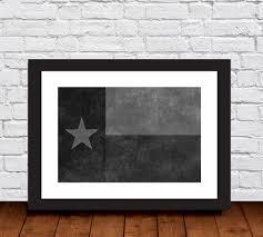 Texas Flag Chile Flag Texas Flag Black And White Distressed Background Photo Fine
